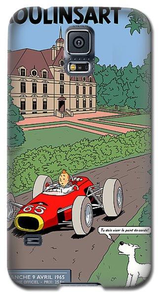 Tintin Grand Prix De Moulinsart 1965  Galaxy S5 Case