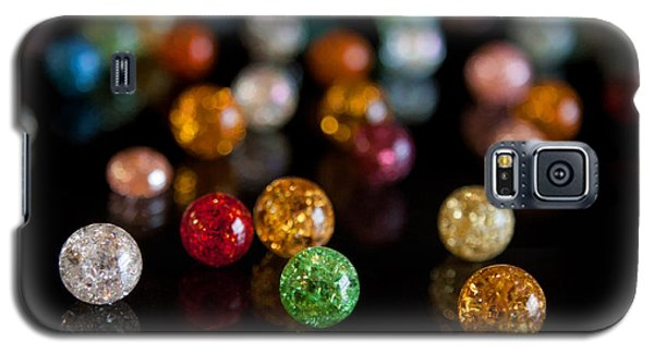 Tiny Crystal Balls Galaxy S5 Case by Cherie Duran