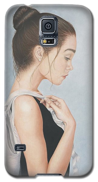 Galaxy S5 Case featuring the painting Tiny Dancer by Dee Dee  Whittle