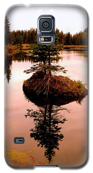 Galaxy S5 Case featuring the photograph Tiny Island by Karen Shackles