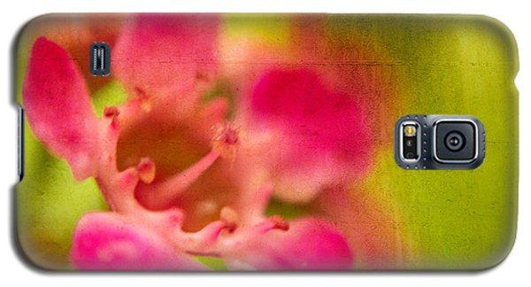 Tiny Pink Galaxy S5 Case by Takeshi Okada