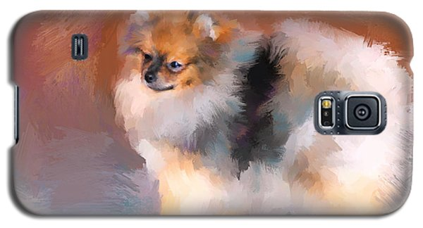 Tiny Pomeranian Galaxy S5 Case