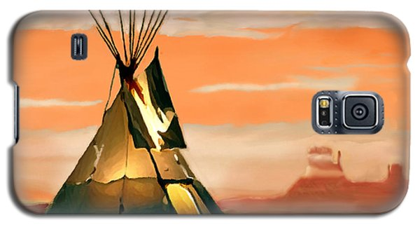 Tipi Or Tepee Monument Valley Galaxy S5 Case