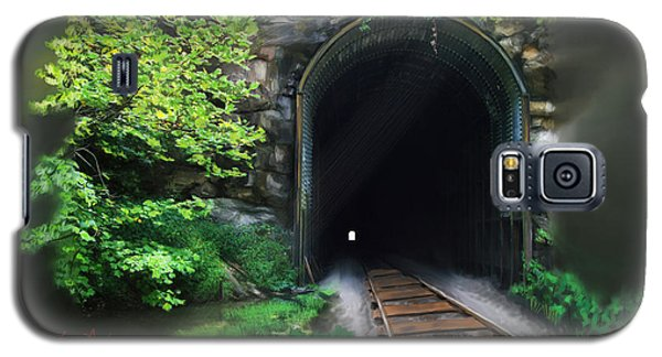 Tiptop Train Tunnel Galaxy S5 Case