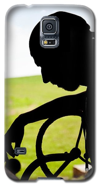Tired Farmer Galaxy S5 Case