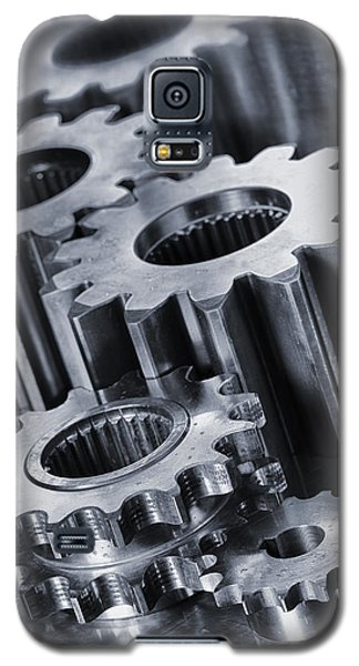 Titanium Gears And Cogs Galaxy S5 Case