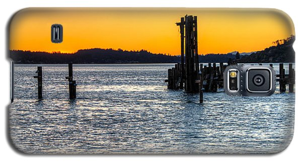 Titlow Beach Park Sunset Tacoma Wa Galaxy S5 Case