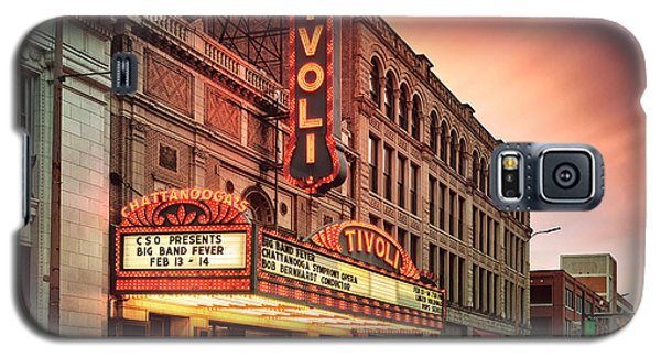 Tivoli Theatre Valentines Day Sunset Galaxy S5 Case by Steven Llorca