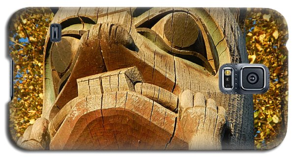 Galaxy S5 Case featuring the photograph Tlingit Totem by Laura  Wong-Rose