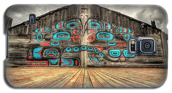 Tlingit Tribal House Haines Alaska Galaxy S5 Case
