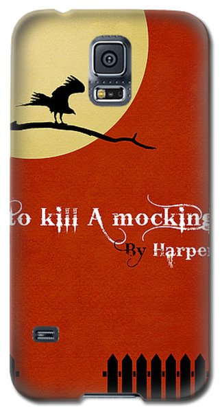 Mockingbird Galaxy S5 Case - To Kill A Mockingbird Book Cover Movie Poster Art 1 by Nishanth Gopinathan