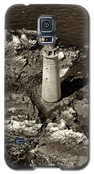 To Light The Graves Black And White Galaxy S5 Case by Joshua House