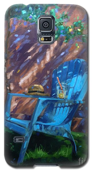 To Sit And Stare  Galaxy S5 Case by Nancy  Parsons