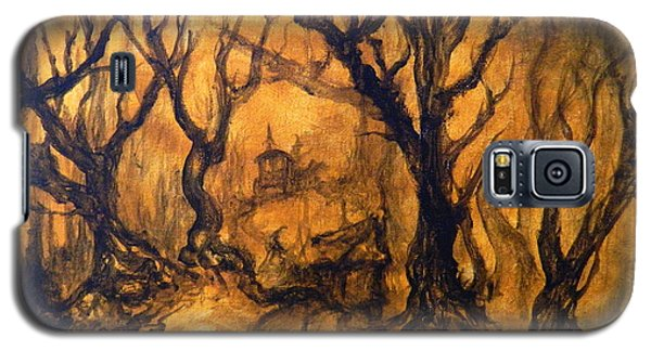 Galaxy S5 Case featuring the painting Toad Hollow by Christophe Ennis