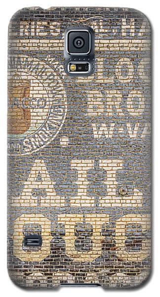Tobacco Advertisement Galaxy S5 Case
