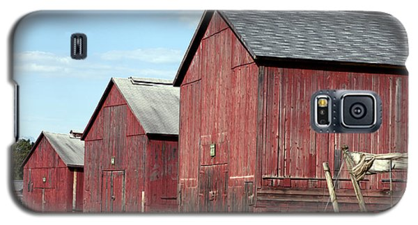 Tobacco Barns In Windsor Connecticut Galaxy S5 Case