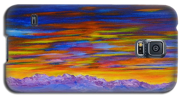 Tobacco Root Mountains Sunset Galaxy S5 Case