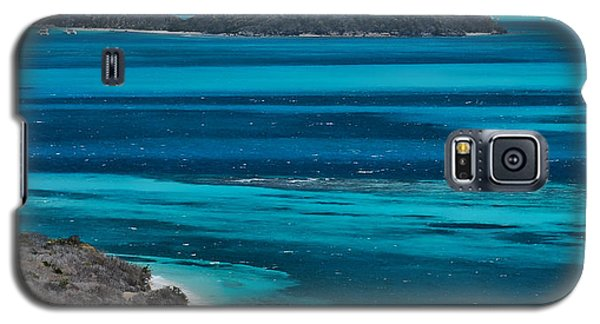 Galaxy S5 Case featuring the photograph Tobago Cays by Don Schwartz