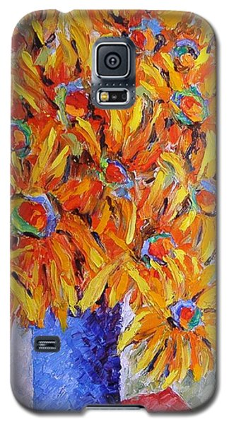 Today I Think In Yellow Galaxy S5 Case