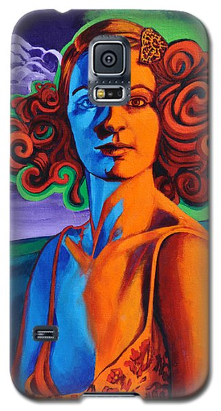 Galaxy S5 Case featuring the painting Today's Lesson by Greg Skrtic