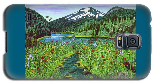 Todd Lake Mt. Bachelor Galaxy S5 Case