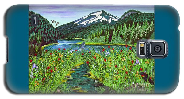 Todd Lake Mt. Bachelor Galaxy S5 Case