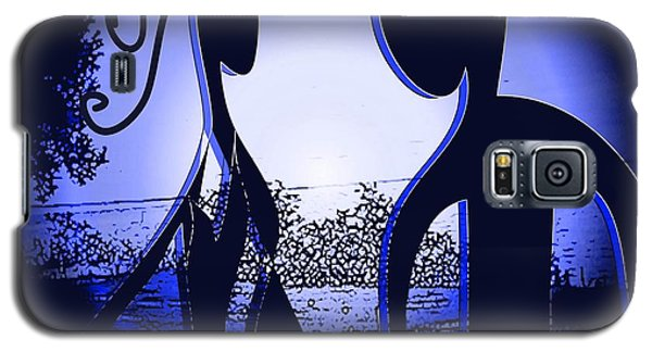 Galaxy S5 Case featuring the digital art Together Forever 2 by Iris Gelbart