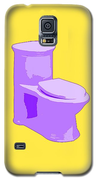 Toilette In Purple Galaxy S5 Case