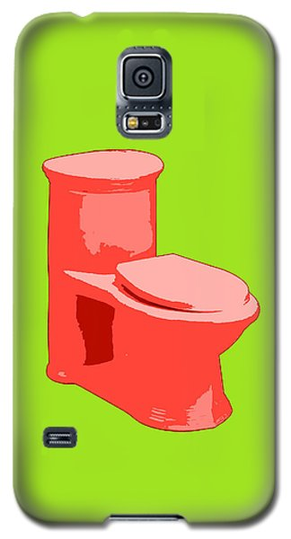 Toilette In Red Galaxy S5 Case