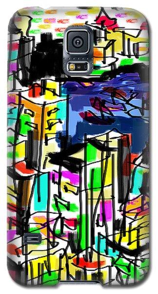 Galaxy S5 Case featuring the digital art Tokyo by Sladjana Lazarevic