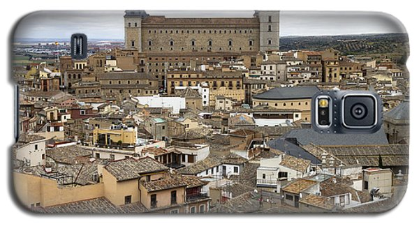 Galaxy S5 Case featuring the photograph Toledo Spain Cityscape by Nathan Rupert