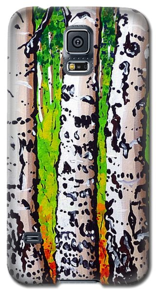 Galaxy S5 Case featuring the painting Tom Dick And Harry by Jackie Carpenter