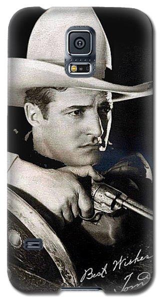 Tom Mix Portrait Melbourne Spurr Hollywood California C.1925-2013 Galaxy S5 Case