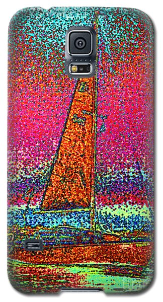 Tom Ray's Sailboat 3 Galaxy S5 Case