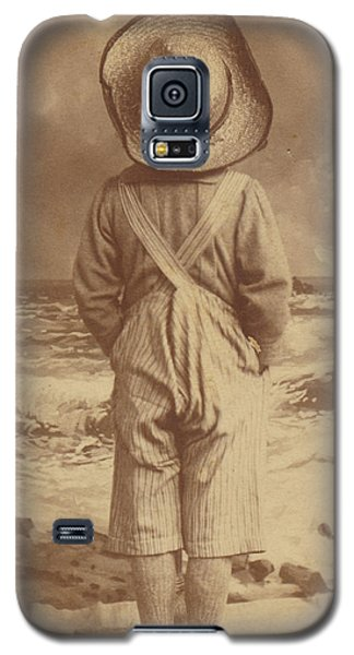 Tom Sawyer At The Beach Galaxy S5 Case by Paul Ashby Antique Image