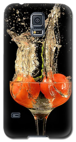 Tomato Splash Galaxy S5 Case