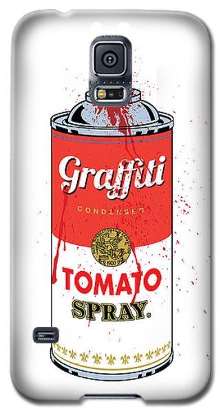 Tomato Spray Can Galaxy S5 Case
