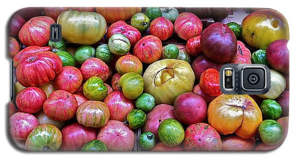 Galaxy S5 Case featuring the photograph Tomatoes by Bill Owen