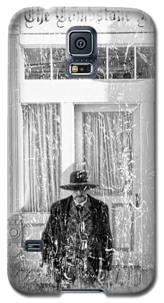 Tombstone Epitaph Galaxy S5 Case by Bob Pardue