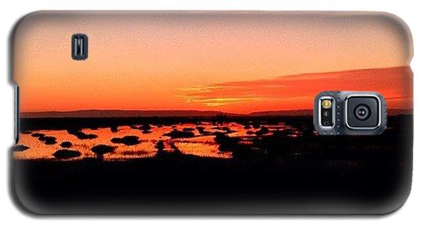 Galaxy S5 Case - Tonight's Sunset, Sacramento, Ca by Paul Wallingford