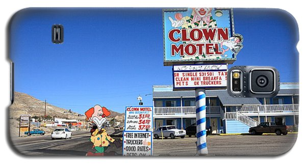 Tonopah Nevada - Clown Motel Galaxy S5 Case