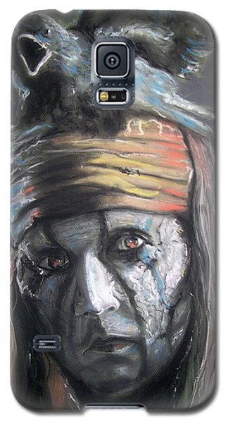 Galaxy S5 Case featuring the pastel Tonto by Peter Suhocke