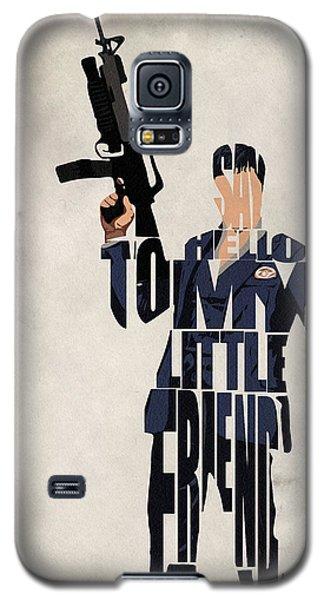 Tony Montana - Al Pacino Galaxy S5 Case