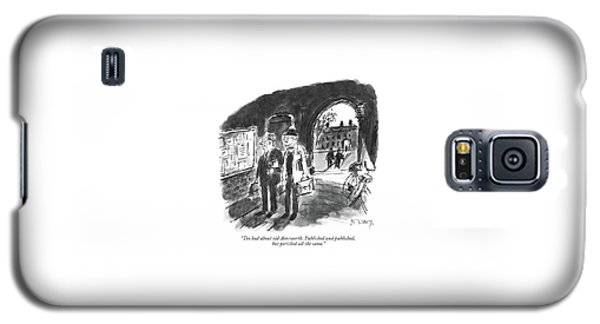 Too Bad About Old Ainsworth. Published Galaxy S5 Case by Barney Tobey