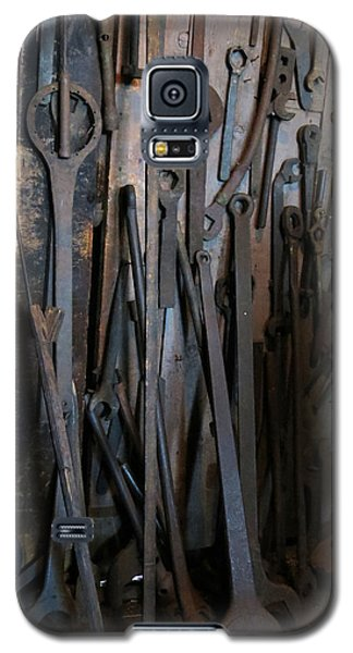 Tools Of The Roundhouse Galaxy S5 Case by Laurel Powell