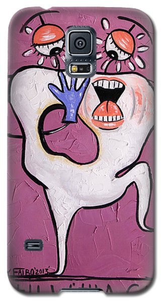 Tooth With A Cavity Dental Art By Anthony Falbo Galaxy S5 Case