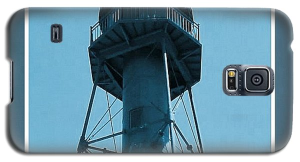 Galaxy S5 Case featuring the photograph Top Of Sanibel Island Lighthouse by Janette Boyd