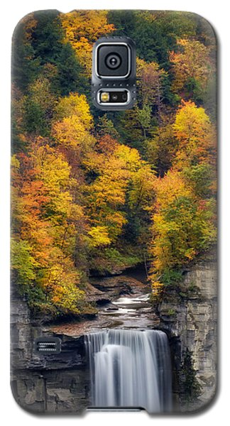Top Of The Falls Galaxy S5 Case by Mark Papke