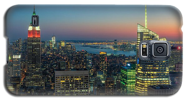 Top Of The Rock Twilight I Galaxy S5 Case