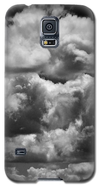 Galaxy S5 Case featuring the photograph Top Of The World by Joan Davis